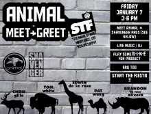 STF BMX Shop Event Flyer, Animal Team Jam
