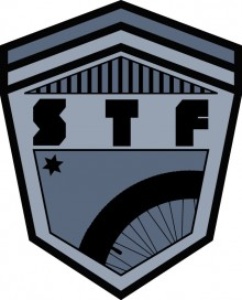STF BMX Shop, Shield Logo