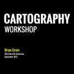 Ohio GIS Cartography Workshop