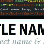 Map Typography – Formatting Tags in ArcMap