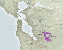 SFPUC Alameda Watershed Locator